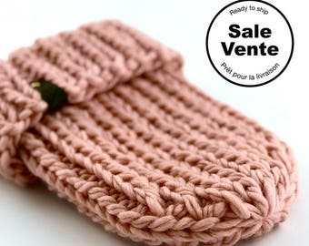 SALE  / The Ribbed Beanie in pink / Ready to ship