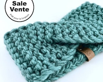 SALE  / The  Turban Heandband in Teal / Ready to ship