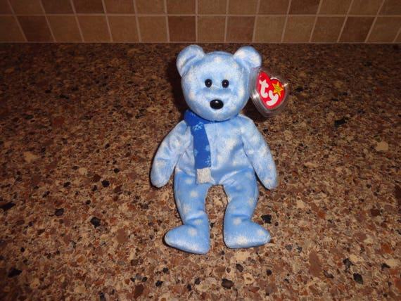 f26524b514e RARE Retired Ty Beanie Babies 1999 Holiday Teddy Bear MWMT