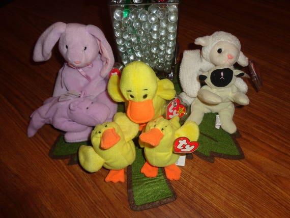 Easter Item RARE Retired Ty Beanie Babies Easter Lot   2b5edb652024