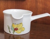 Vintage 60 39 s quot Sierra quot Johnson Bros England Ironstone Water Pourer with Spout and Handle - Serving - Dining - 60 39 s Kitchen - Sierra China