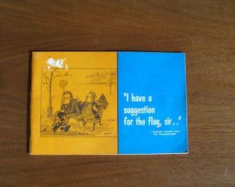 "Vintage 60's ""Political Cartoons from the Commonwealth"" - 1964 - 1967 - Saskatchewan Canada Political Cartoon Satire - Comic Book"