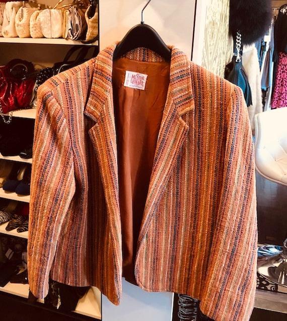 Vintage 1970s Mister Leonard Blazer Size 18