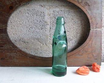 Antique 1900  Ball Sealed Bottle Codd bottle