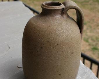 Salt Glazed Pottery Jug Seagrove NC Traditional Pottery Small Jug
