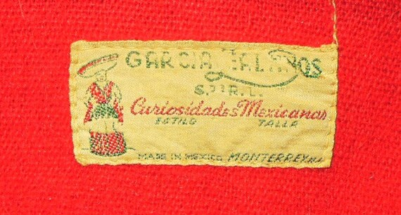 1930's Monterrey Mexican Jacket with appliques - image 3