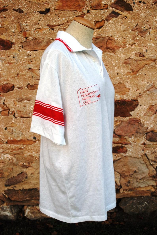 Vintage Mustang Club Pennsylvania Auto Sport Polo Shirt