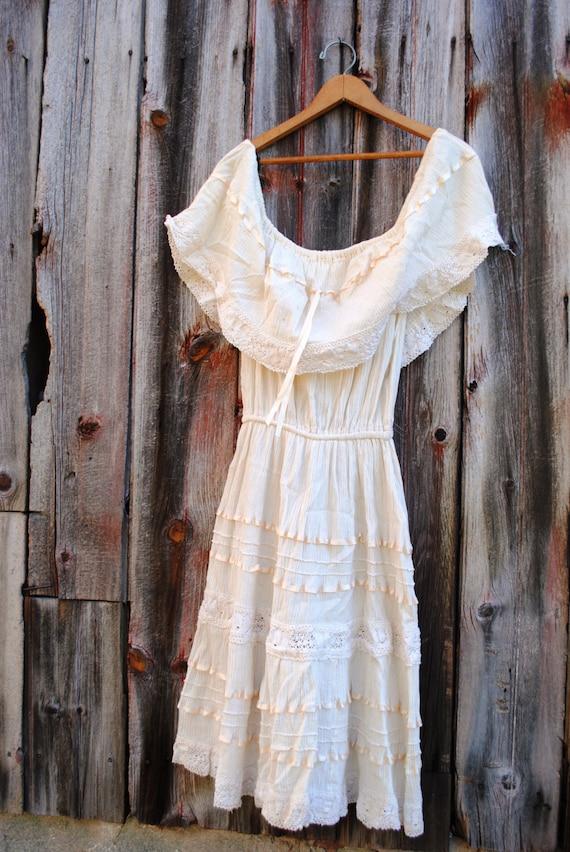 Vintage Mexican Wedding Dress | Etsy