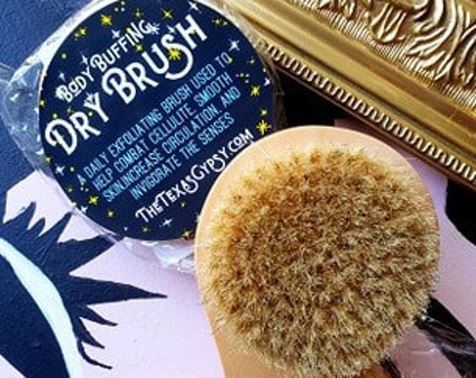 Body Buffing Dry Brush Exfoliating