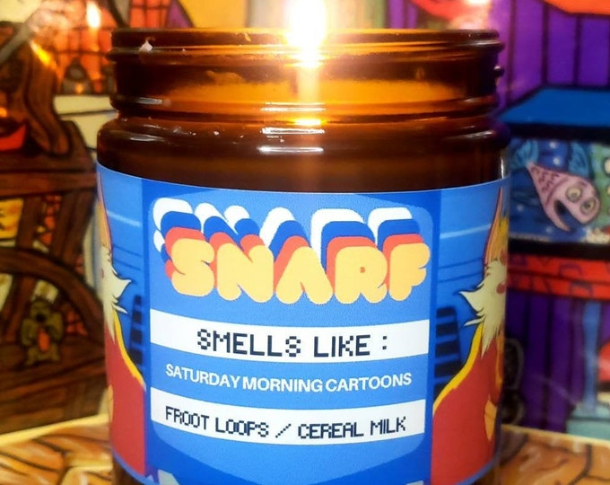 Snarf Candle