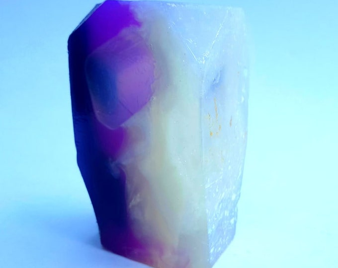 Amethyst Crystal Soap Jasmine Scent
