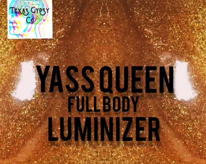 Yaas Queen Ultra Shimmer Concentrate Body Luminizer 4oz