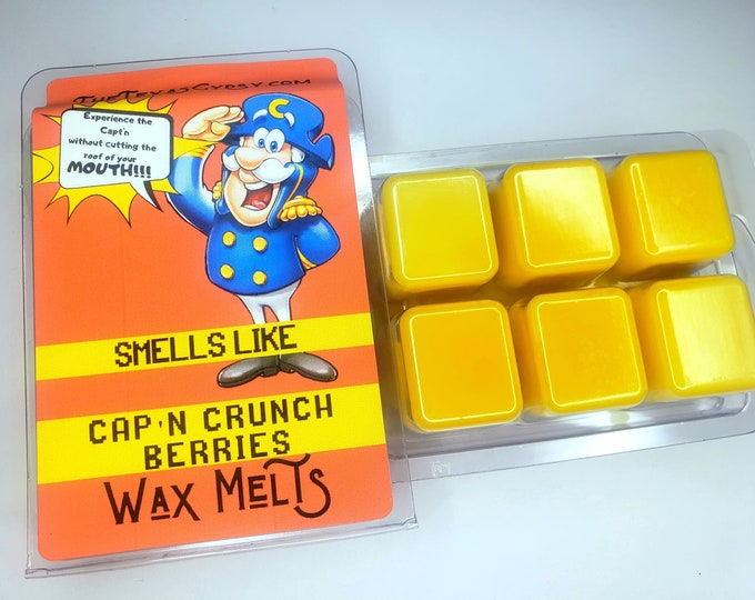 Captain Crunch Berries  Wax Melts Tarts 3 oz