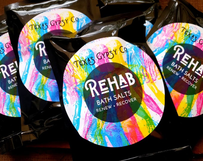 Rehab Bath Salts Renew + Recover