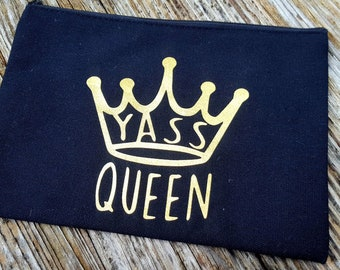 Yass Queen Makeup Bag