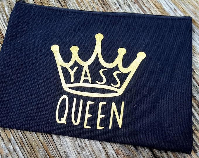 Yass Queen Makeup Bag