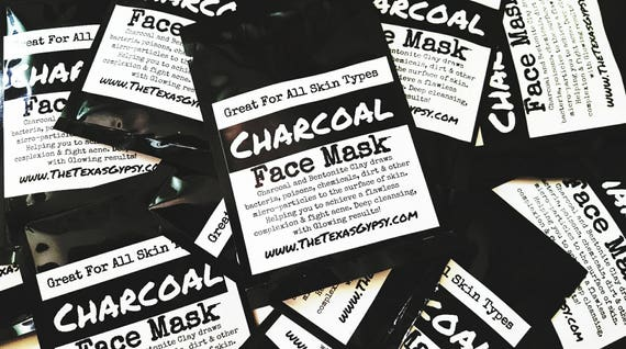 Activated Charcoal Masks 2 oz