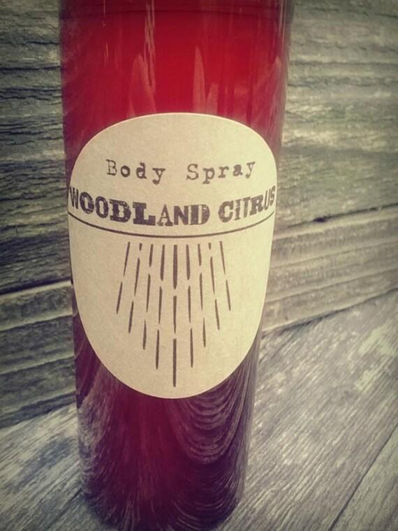 Woodland Citrus Signature Scent Series Body Spray 4oz