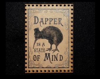 Dapper is a State of Mind Leather Patch