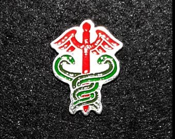 Pewter Doctor Horrible Lapel Pin or Magnet