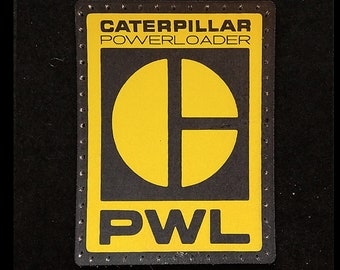 Power Loader 4 inch Leather Patch