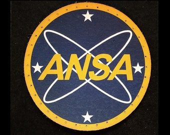 ANSA 3.8 inch Leather Patch