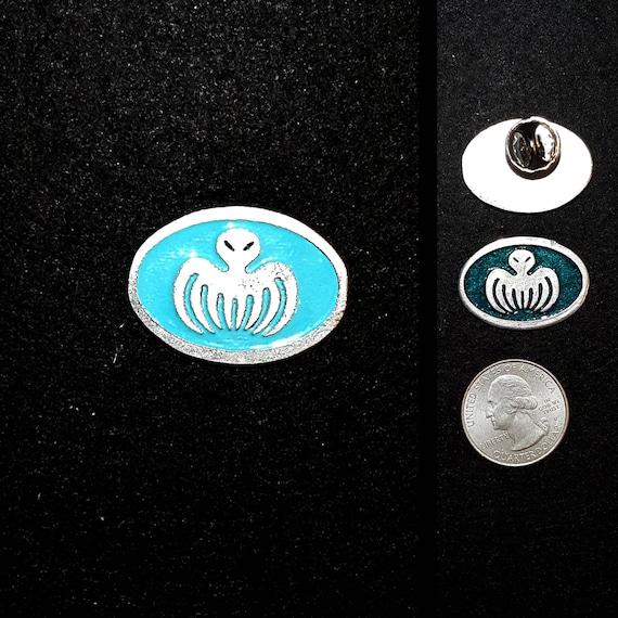 UK ~ SPECTRE LAPEL PIN Badge *HIGH QUALITY*  Suit JAMES BOND Villian 007