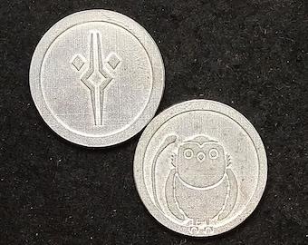 Ahsoka (Fulcrum) and Morai Pewter Coin