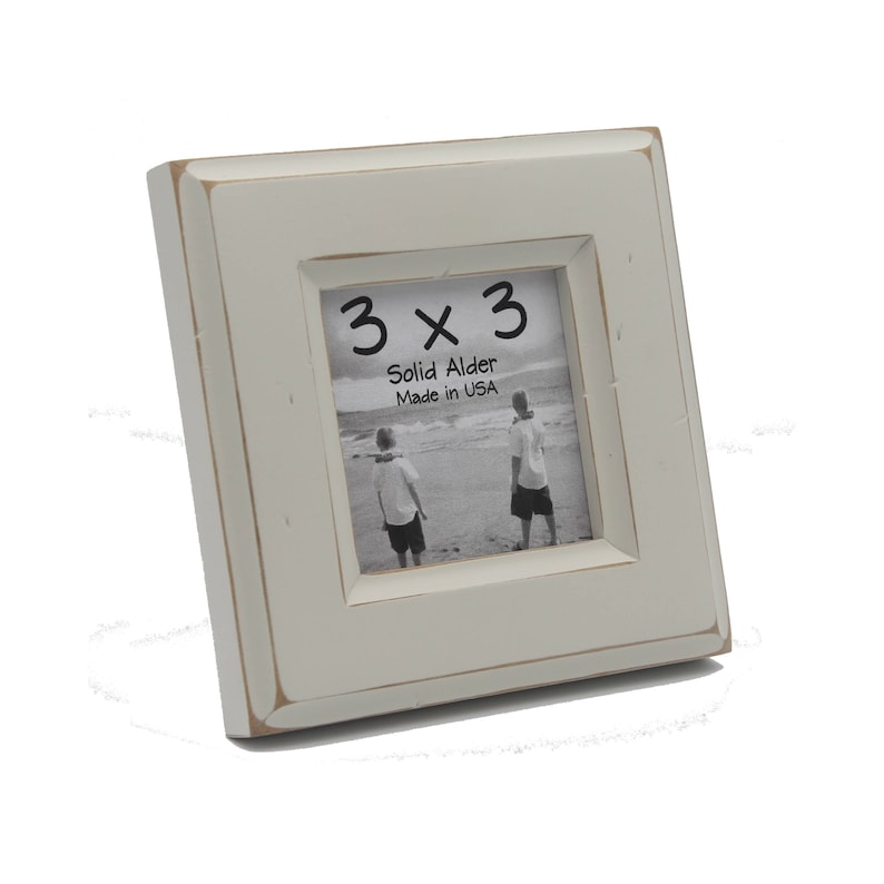 3x3 Moab Picture Frame - Off White - Instagram, Home Decor, Wedding Favors,  Wall Decor, Solid Wood, Handmade, Free Shipping