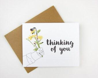 Thinking of You: Sympathy Card
