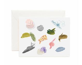 Royal Wedding Hats, Stationery Set, 8-pack