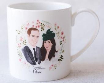 William & Kate, Royal Wedding Commemorative Mug