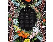 2015 Language of Flowers wall calendar
