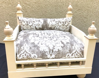 luxury dog bed furniture. Pet Bed Luxury Furniture Beige FREE SHIPPING!! Luxury Dog Bed Furniture L