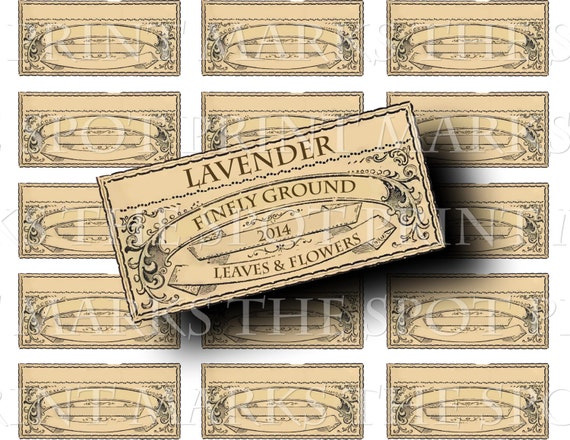 Herbs and Spice Labels printable kitchen organzing craft art hobby crafting scrapbooking instant download digital collage sheet VD0348