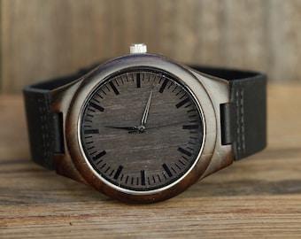 Wooden Watch,Wood Watch, ,Personalized Wood Watch,Personalized Watch, groomsmen gift, Engraved Wood Watch, Mens Wood Watch