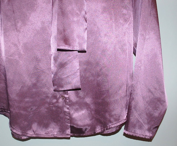 Vintage Lilac Secretary Blouse - image 2