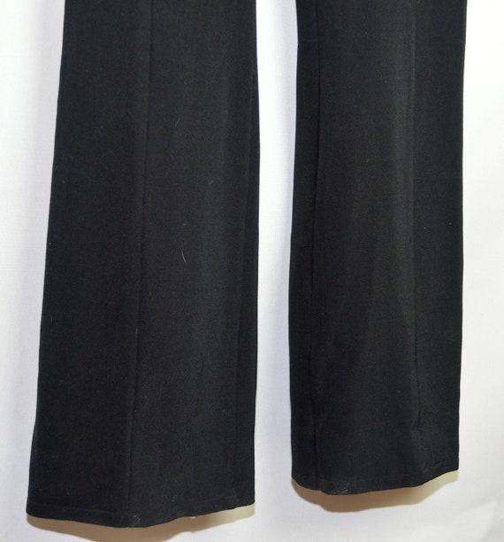 Vintage Ivoire de Laurence Black Formal ladies slacks