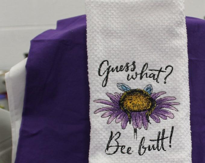 Bee Dishtowel
