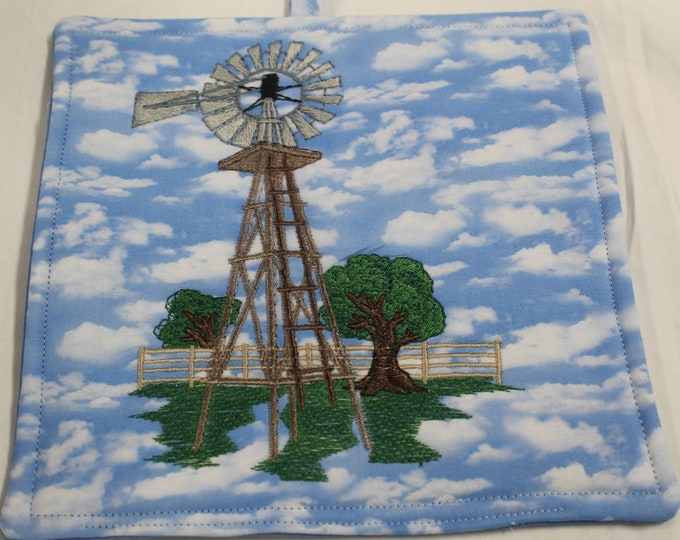 Windmill Potholder
