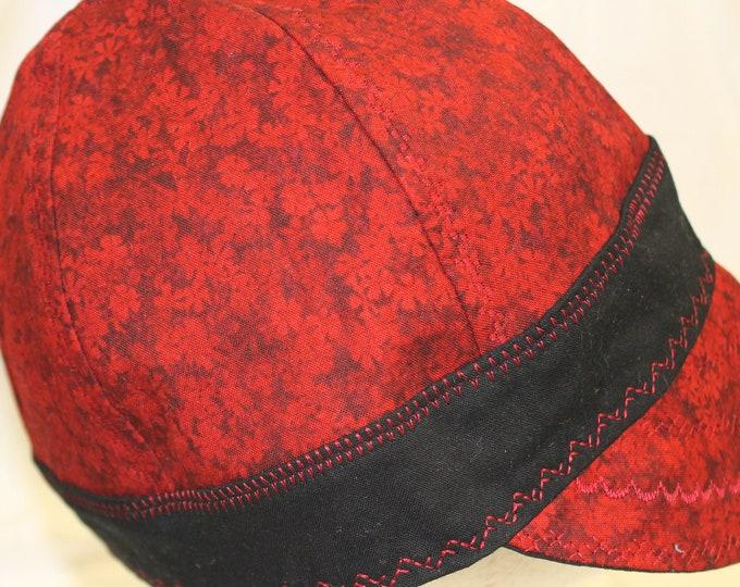 Welding cap fabric