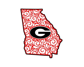 Georgia Bulldogs Svg Etsy
