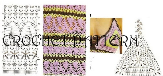 Summer Dress Crochet Pattern With Diagrams And Written Etsy