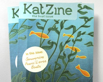 Katzine - The Boat Issue