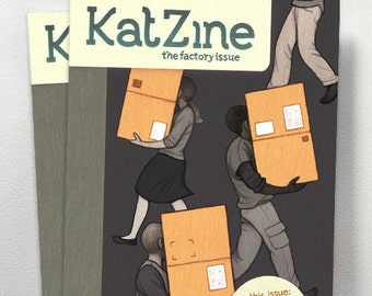 Katzine - the Factory Issue