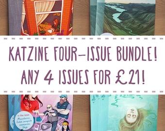 Katzine four-issue bundle!