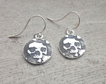 Catacombs Skull Earrings
