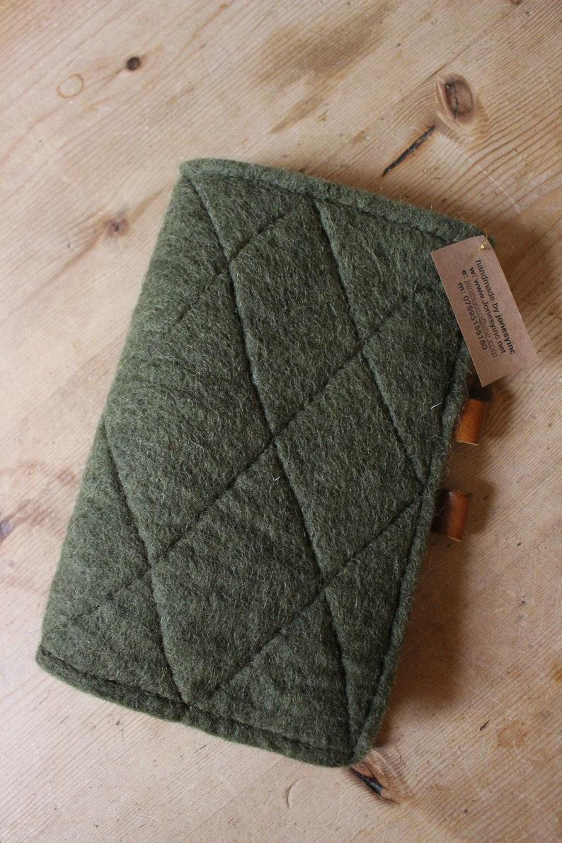 Handmade refillable notebook FNB6 image 0