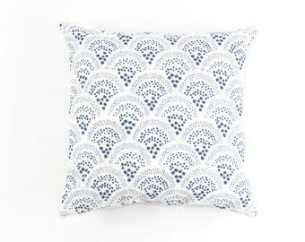 Sister Parish Chou Chou Pillows - Both Sides (shown in Blue-comes in several colors)