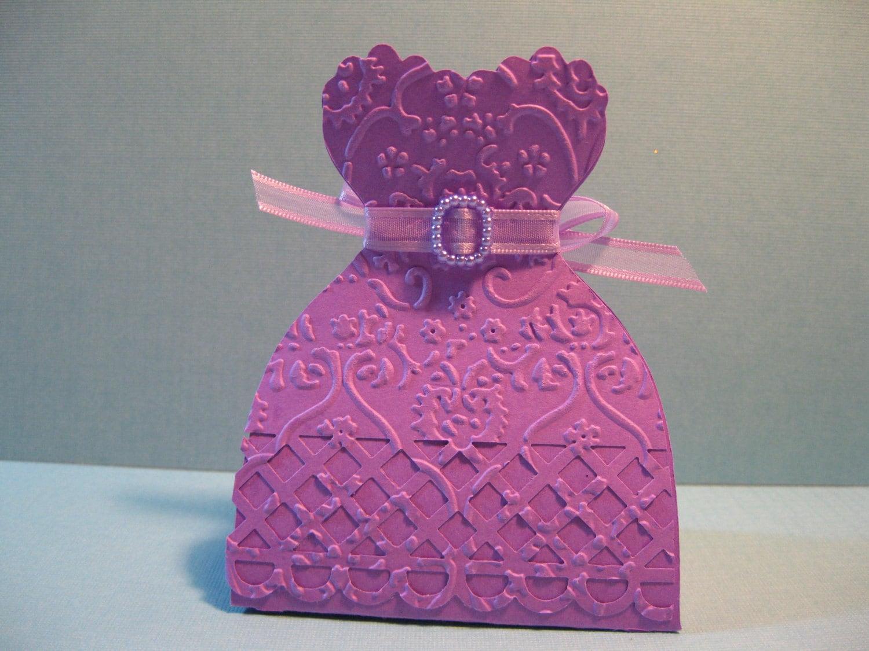Set of 10 Princess Party Favor Boxes Bridesmaid Dress | Etsy